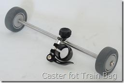 Caster fot Train Bag