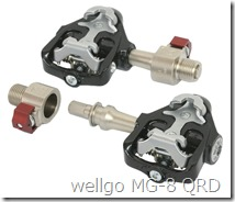 wellgo MG-8 QRD 脚蹬(日文)