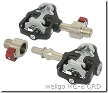 wellgo MG-8 QRD