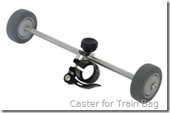 Caster for Train Bag