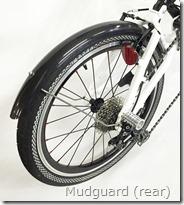 Mudguard (rear)