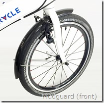 Mudguard (front)