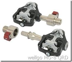 wellgo MG-8 QRD ビンディングペダル