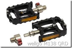 wellgo M138 QRD フラットペダル