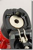大径ヘッドトップ固定ボルト(標準仕様/レッド)