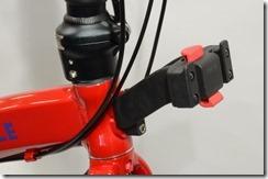 アクセサリー台座内蔵ヘッドプレート(標準仕様/レッド)