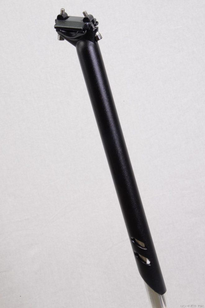 CZシートポスト アルミ 31.6x400mm